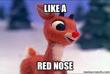 Red nose hook & Rudolph GIF