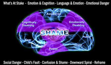 shame children cognition