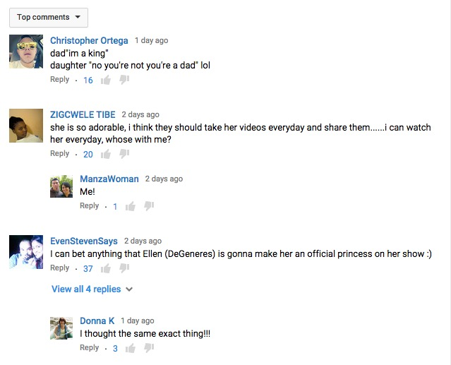 Screen Shot of YouTube Comments 2015-09-14 at 9.50.06 AM